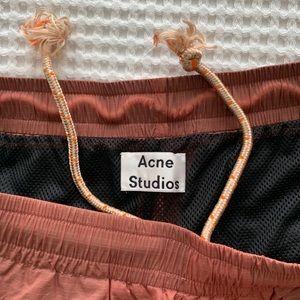 Acne rip stock shorts